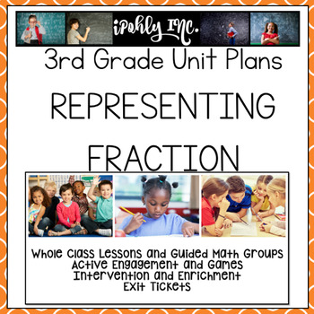 Representing Fractions Guided Math Lesson Plans 3.3A 3.3B 3.3C 3.3D 3.3E 3.7A