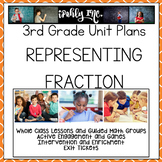 Representing Fractions Lesson Plans 3rd Grade {3.3A 3.3B 3