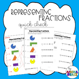 Representing Fractions - QUICK CHECK