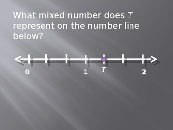 Representing Fractions and Mixed Numbers on the Number Line