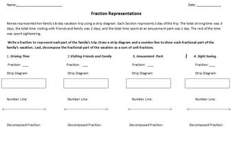 Representing Fractions and Problem Solving