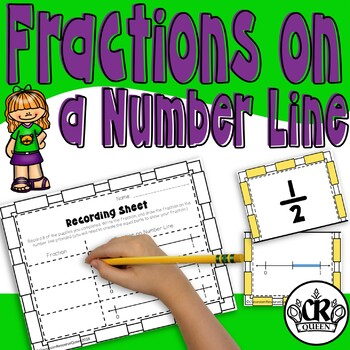 Representing Fractions on a Number Line Puzzles