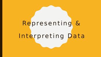 Representing & Interpreting Data