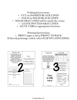 Representing Linear Non-Proportional Relationships INB TEKS 8.5B