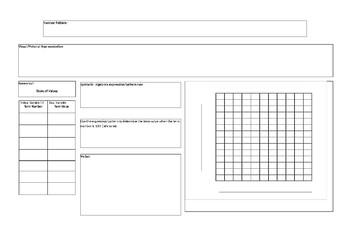 Representing Linear Patterns Matrix