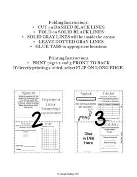 Representing Linear Proportional Relationships INB TEKS 8.5A