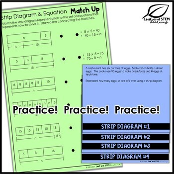 Representing Multi-Step Problems Interactive Notebook Set