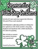 Representing Multi-Step Problems (TEKS 4.5A) STAAR Practice