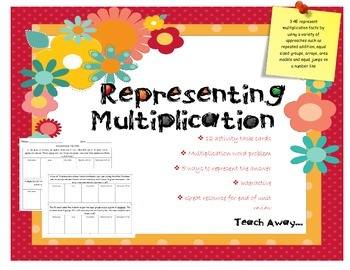 Representing Multiplication Activity