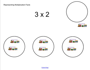 Representing Multiplication Facts