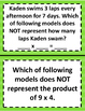 3.4D 3.4E Representing Multiplication Facts Activity STAAR