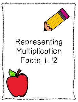 Representing Multiplication Facts - Up to the 12's - Blanks included!