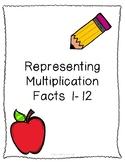 Representing Multiplication Facts - Up to the 12's - Blank