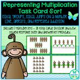 Representing Multiplication Task Card Sort TEKS 3.4E
