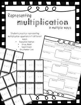 Representing Multiplication in Multiple Ways