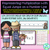Representing Multiplication with Equal Jumps on a Number L