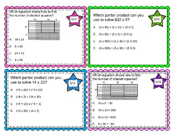 Representing Multiplication with Partial Products & Area Model