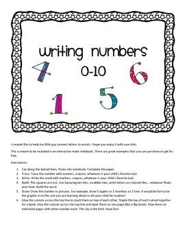Representing Numbers 0-10