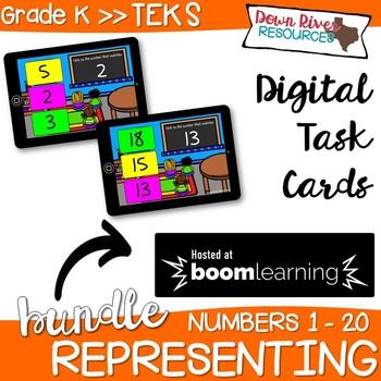 Representing Numbers 0-20 | Visual Discrimination Skills (Kindergarten TEKS)