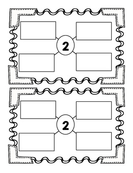 Representing Numbers 0-5! A Printable Booklet