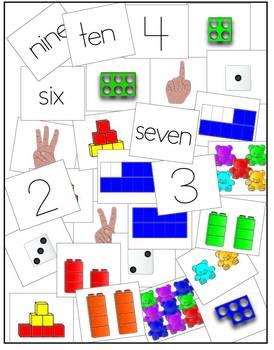 Representing Numbers 1-10