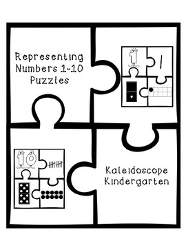 Representing Numbers 1-10 - Puzzles