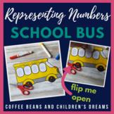 Representing Numbers 1-20 School Bus Craft