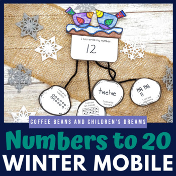 Number to 20 Winter Craft