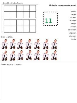 Representing Numbers 11-20