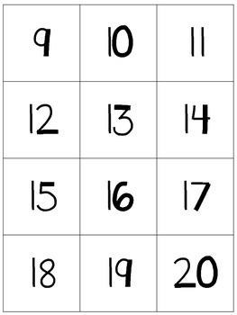 Representing Numbers 8-120 *FREEBIE*