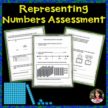 Representing Numbers Assessment: Standard, Word, and Expanded Forms.