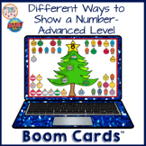 Representing Numbers Different Ways Advanced Boom Learning Cards