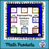 Representing Numbers Place Value Activities