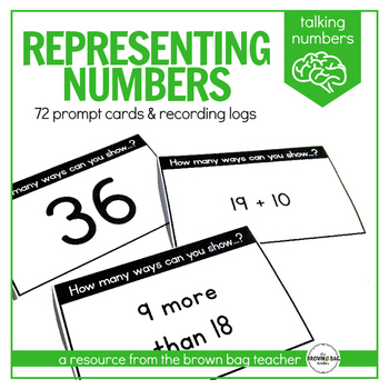 Representing Numbers Prompts: Talking Numbers