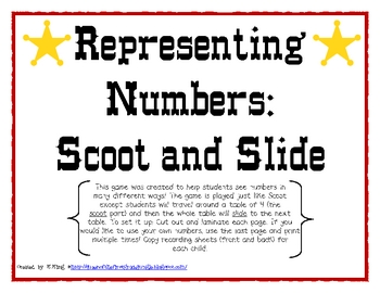 Representing Numbers: Scoot and Slide