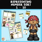 Representing Numbers Sort - 1 - 10