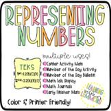Representing Numbers: TEKS 1.2B 1.2C 1.2D and 2.2A 2.2B 2.2C