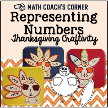 Representing Numbers, Thanksgiving Craftivity
