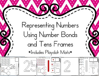 Representing Numbers Using Number Bonds and Tens Frames