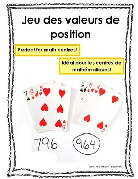 Representing Numbers in Different Ways - French