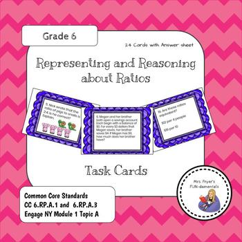 Representing & Reasoning about Ratios Task Cards