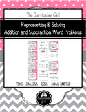 Representing & Solving Addition & Subtraction Word Problems (3.4A, 3.5A, 3.OA.8)