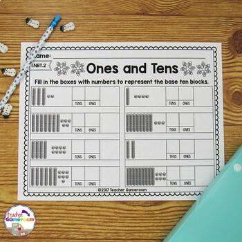 Representing Tens and Ones - 1.NBT.2