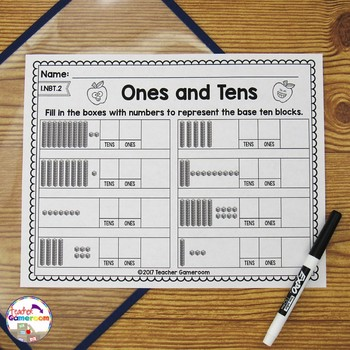 Representing Tens and Ones - 1.NBT.2