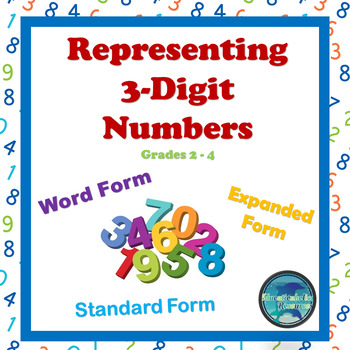 Representing Three-Digit Numbers in Standard Form, Word Fo