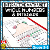 Representing Whole Numbers Interactive Notebook Grades 5-6