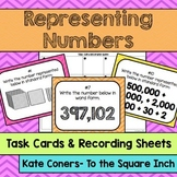 Representing Whole Numbers Task Cards