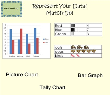 Representing and Analyzing Data SMART Board Lessons