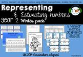 Representing and Estimating Number Winter Pack UK Curriculum