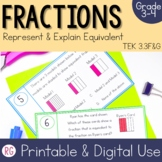 Representing and Explaining Equivalent Fractions